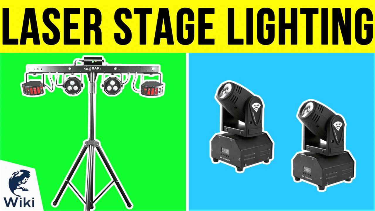 9 Best Laser Stage Lighting