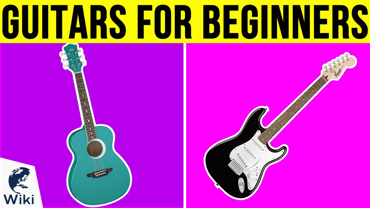10 Best Guitars For Beginners