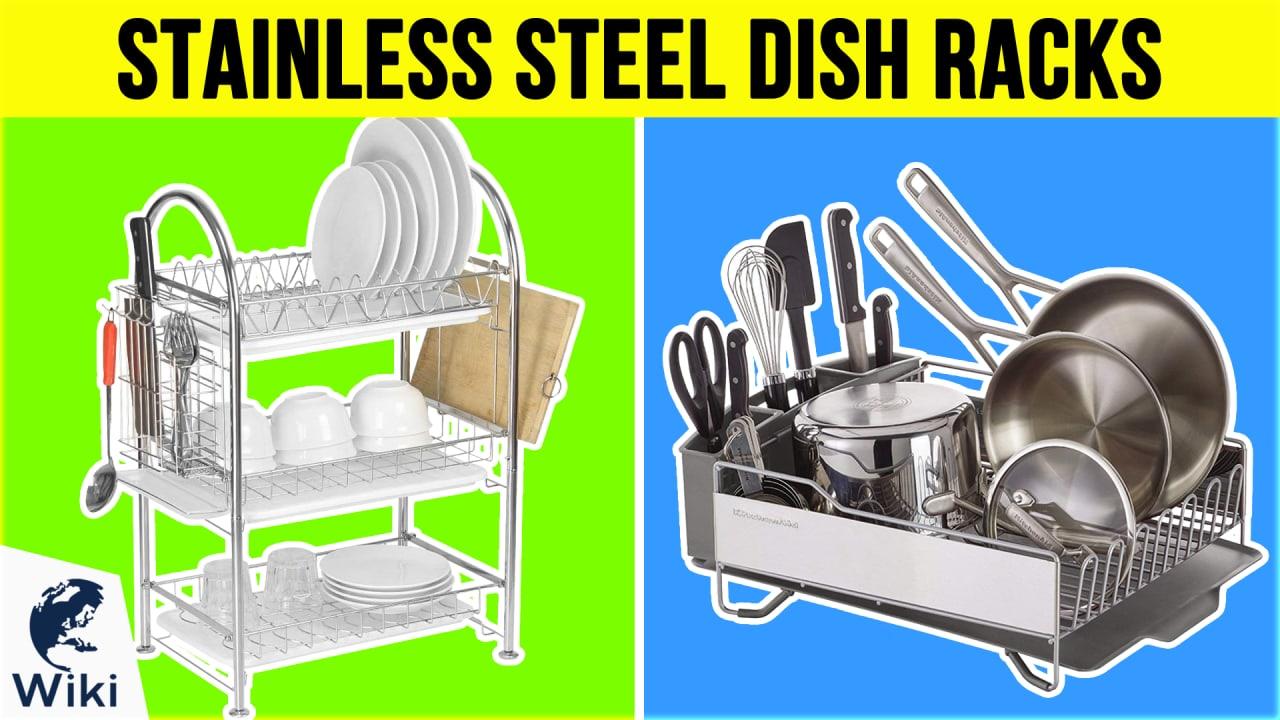 10 Best Stainless Steel Dish Racks