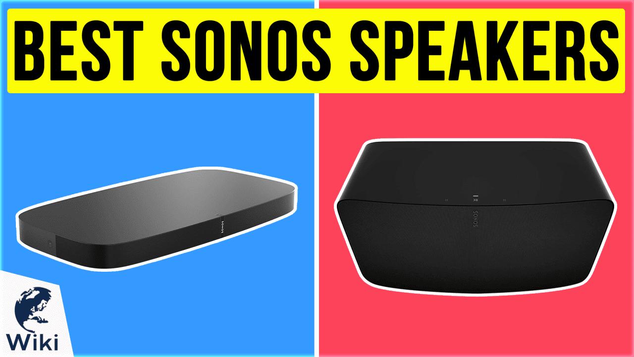10 Best Sonos Speakers