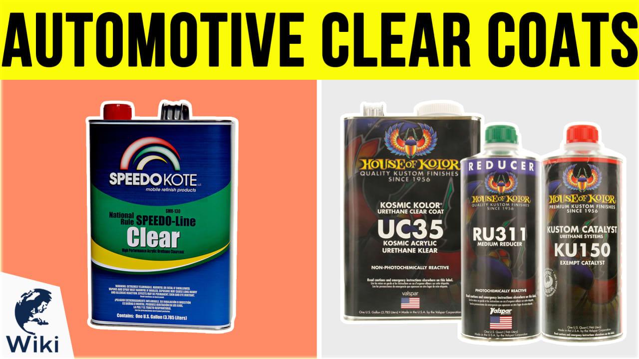 8 Best Automotive Clear Coats