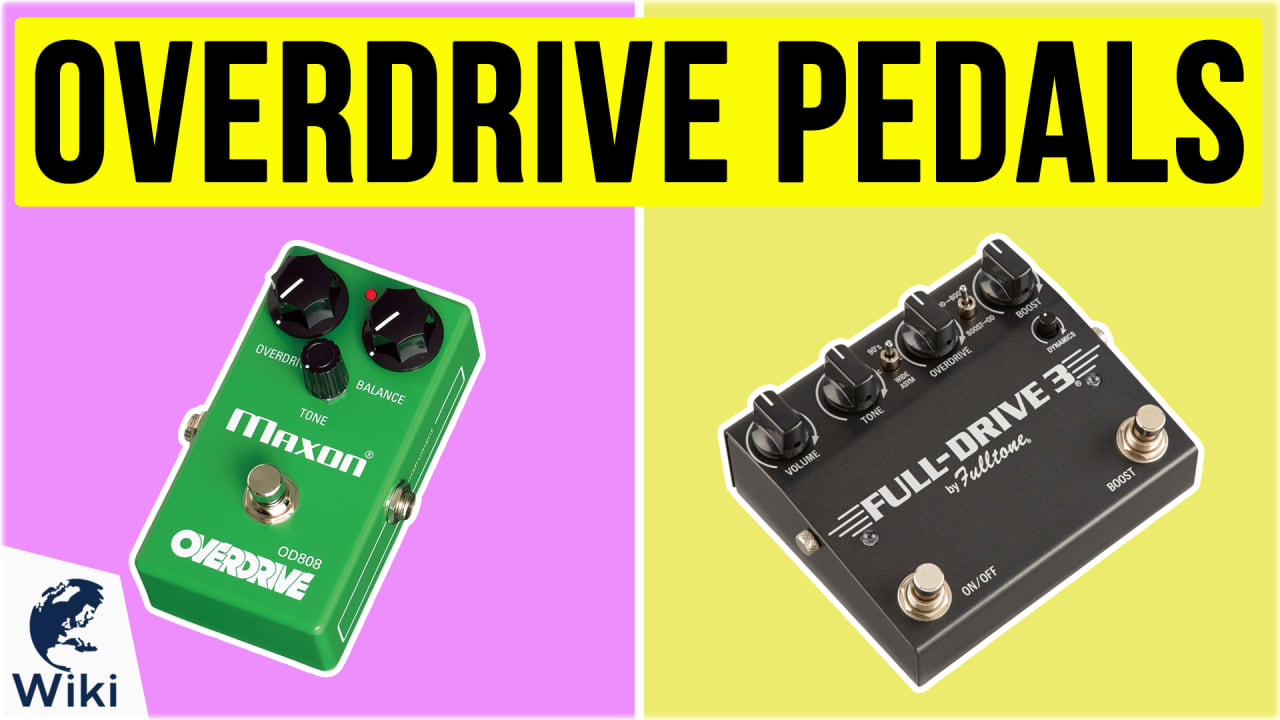 10 Best Overdrive Pedals