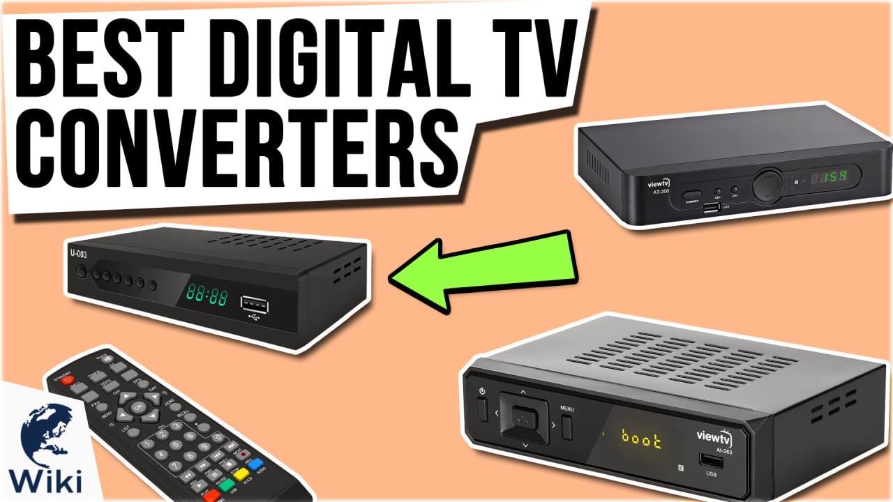8 Best Digital TV Converters