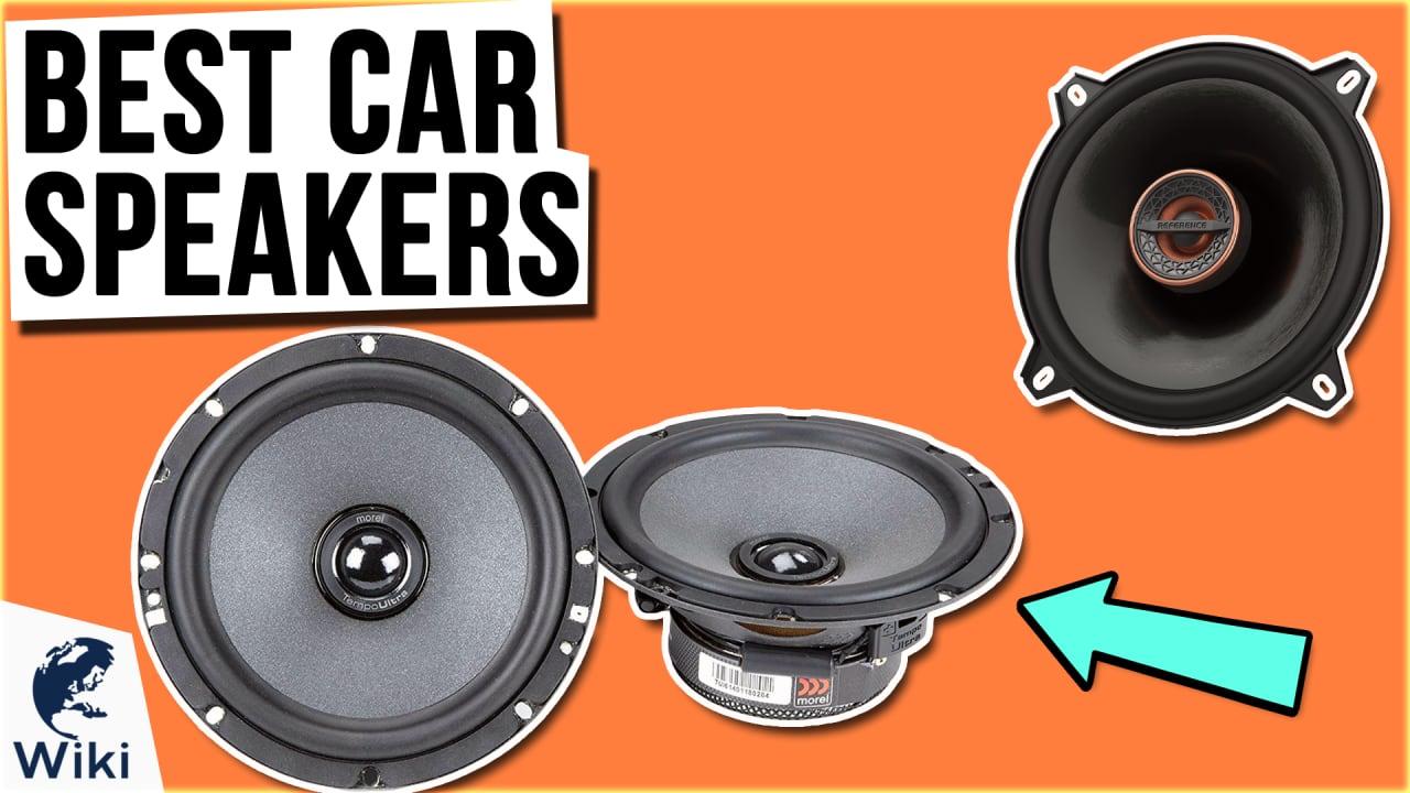 8 Best Car Speakers