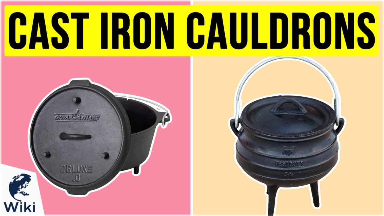 10 Best Cast Iron Cauldrons