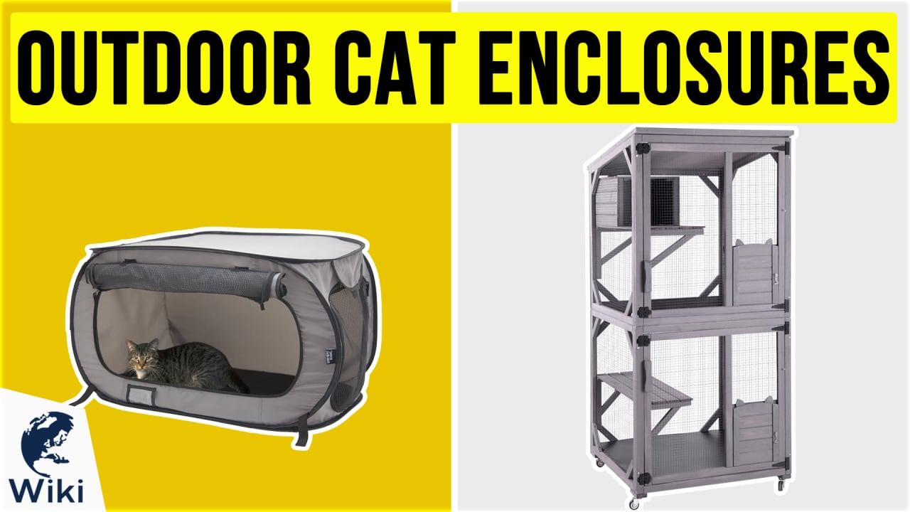 10 Best Outdoor Cat Enclosures