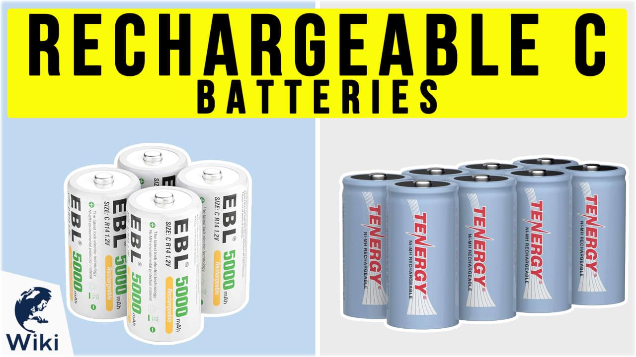 8 Best Rechargeable C Batteries