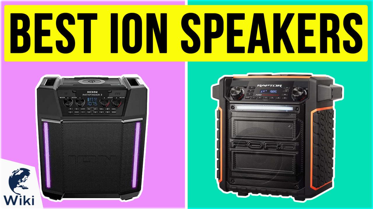 10 Best Ion Speakers