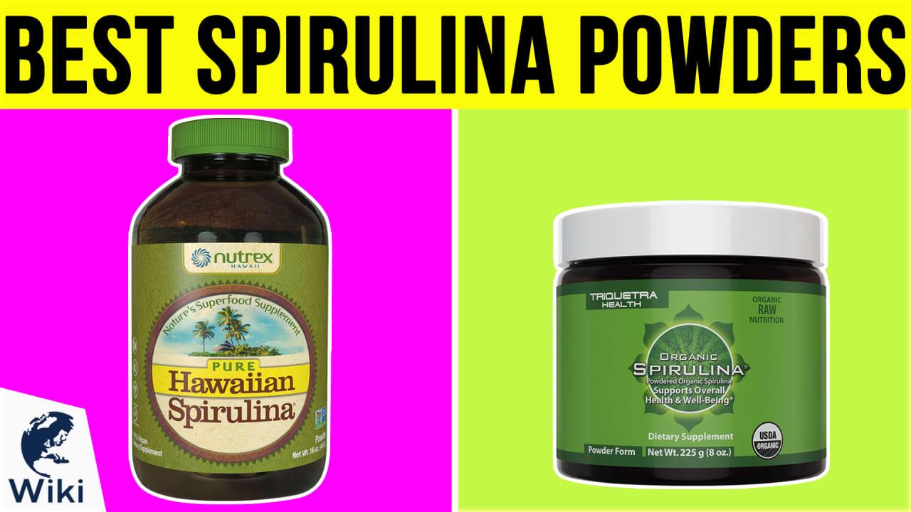 10 Best Spirulina Powders