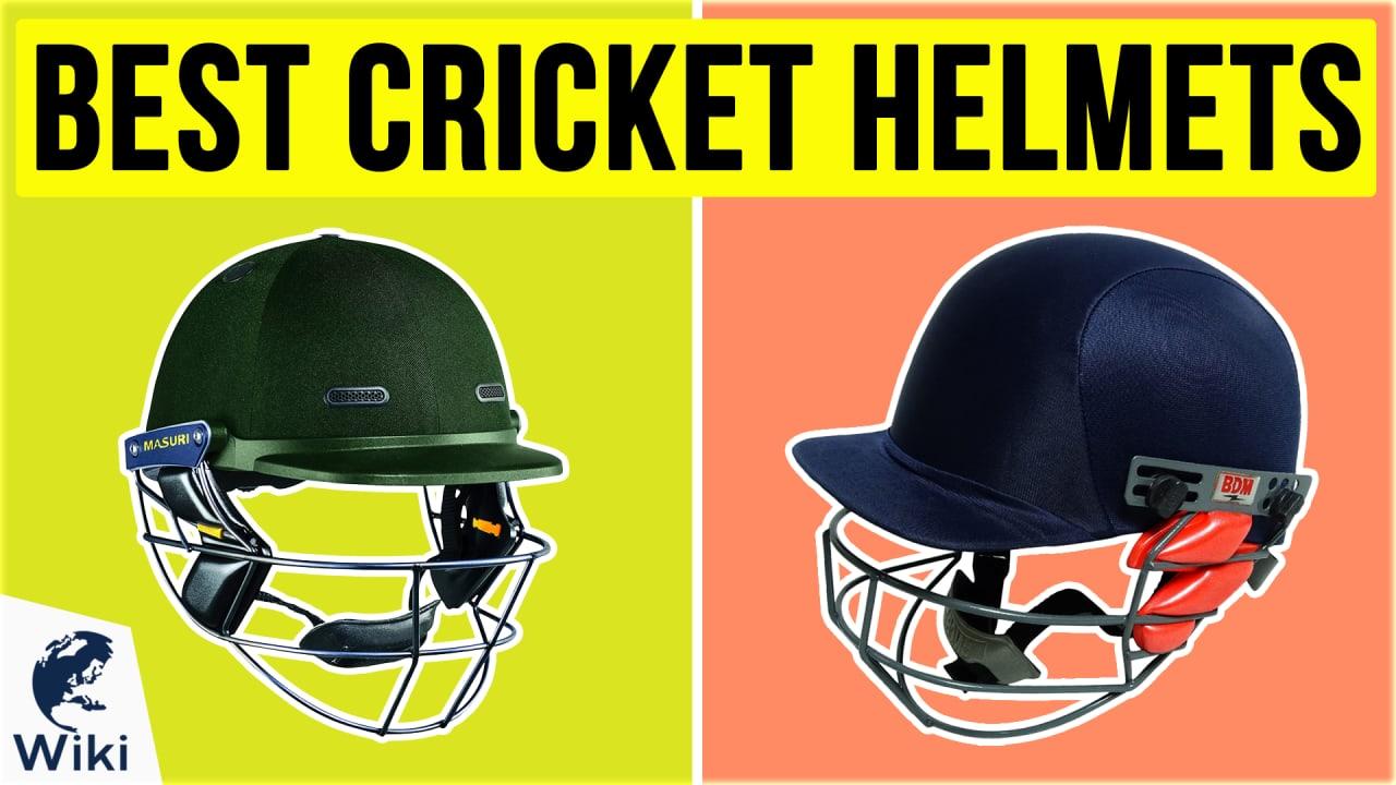 10 Best Cricket Helmets