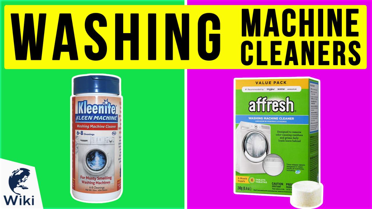 10 Best Washing Machine Cleaners