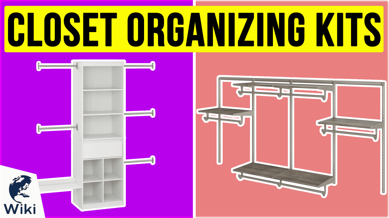10 Best Closet Organizing Kits