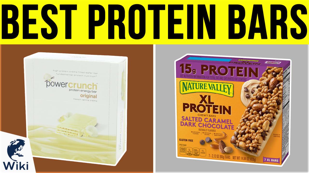 10 Best Protein Bars
