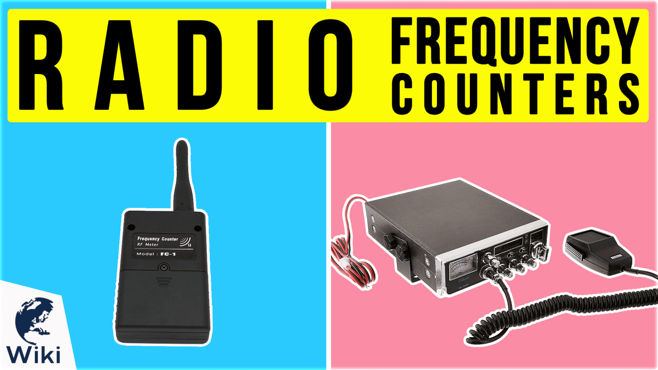 10 Best Radio Frequency Counters