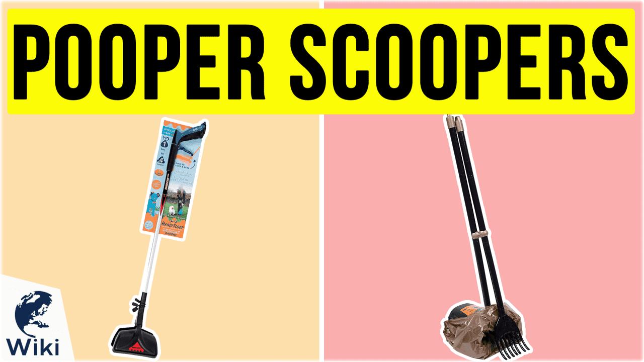 10 Best Pooper Scoopers