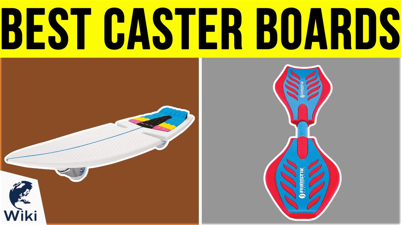 6 Best Caster Boards