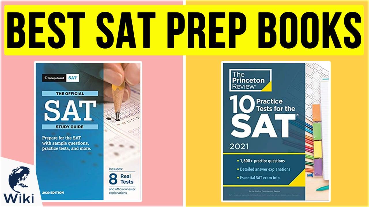 10 Best SAT Prep Books