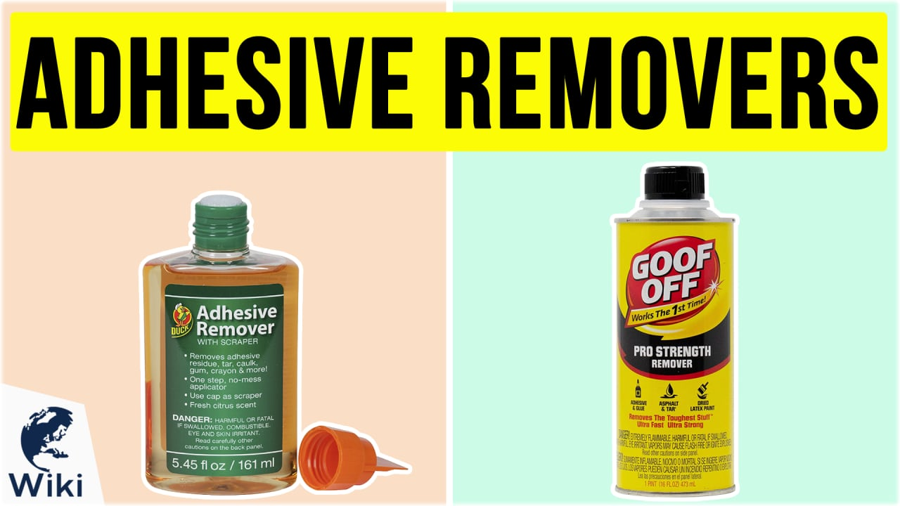 10 Best Adhesive Removers