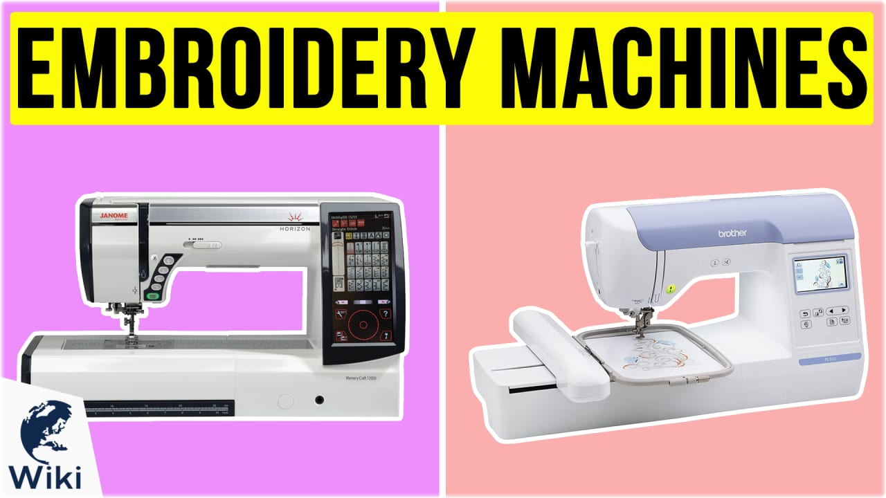 8 Best Embroidery Machines