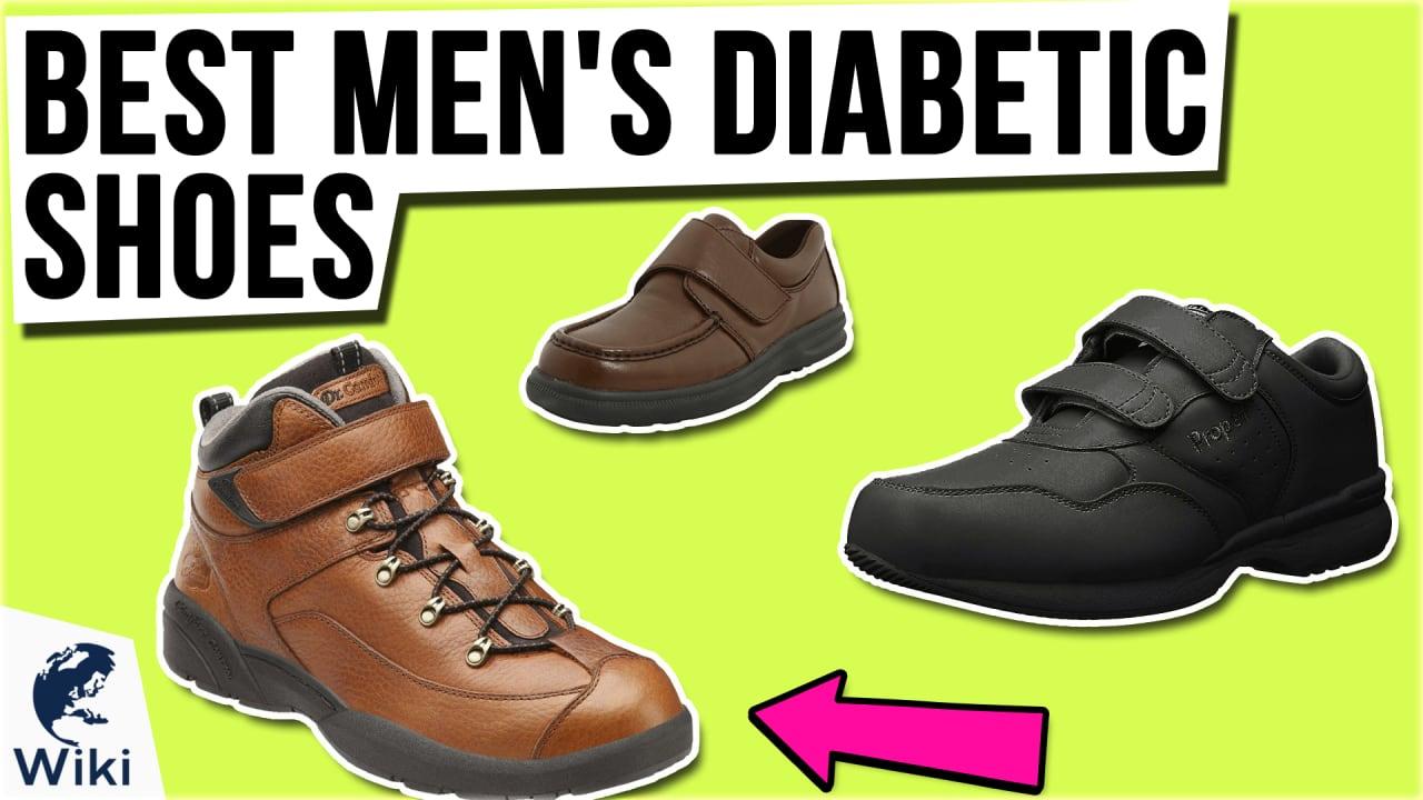 10 Best Men's Diabetic Shoes