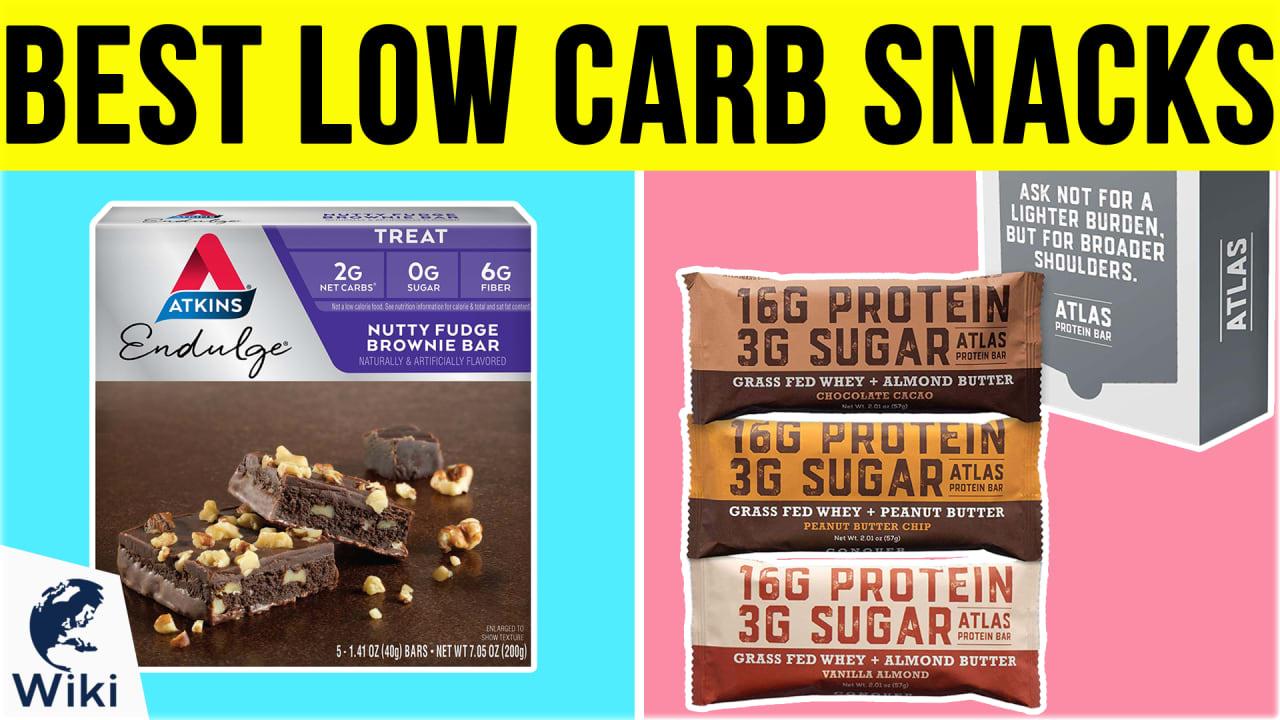 10 Best Low Carb Snacks