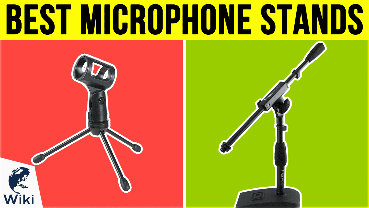 10 Best Microphone Stands