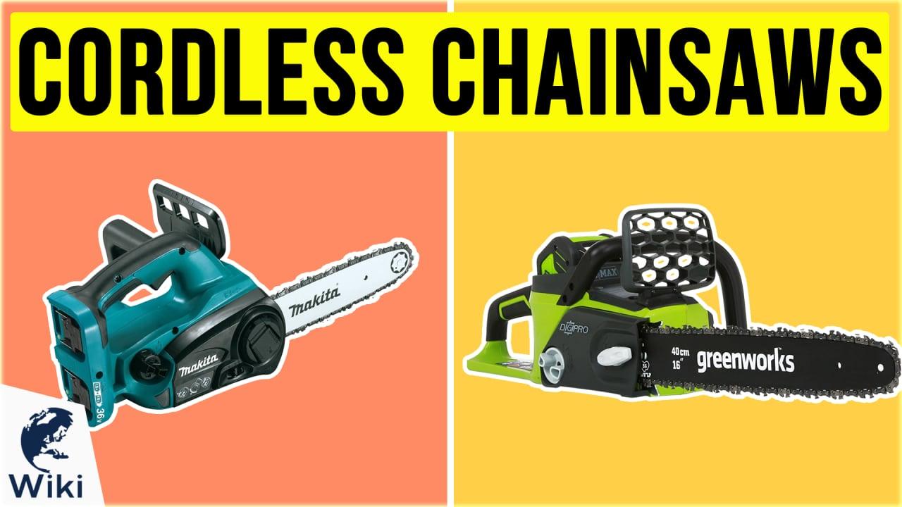 10 Best Cordless Chainsaws