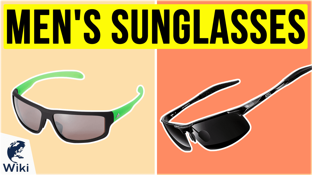 10 Best Men's Sunglasses