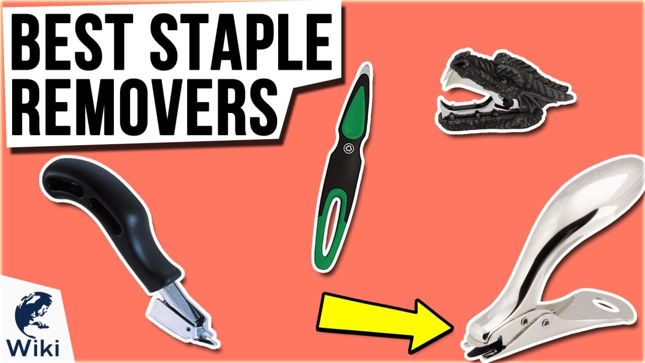 10 Best Staple Removers