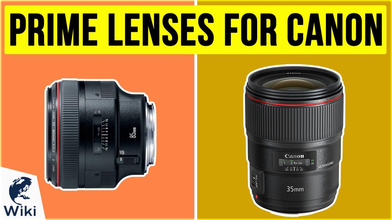 10 Best Prime Lenses For Canon