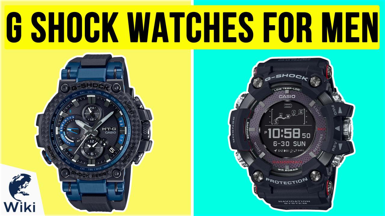 10 Best G Shock Watches for Men