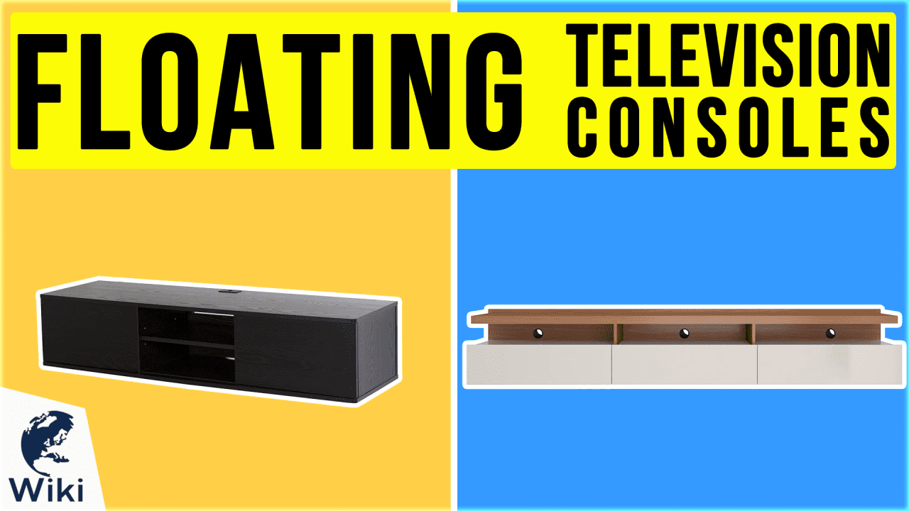 10 Best Floating Television Consoles