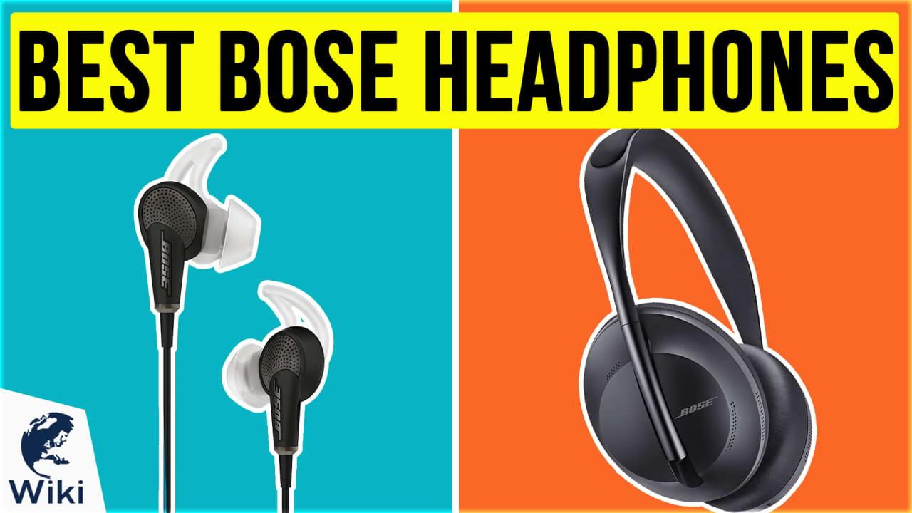 6 Best Bose Headphones