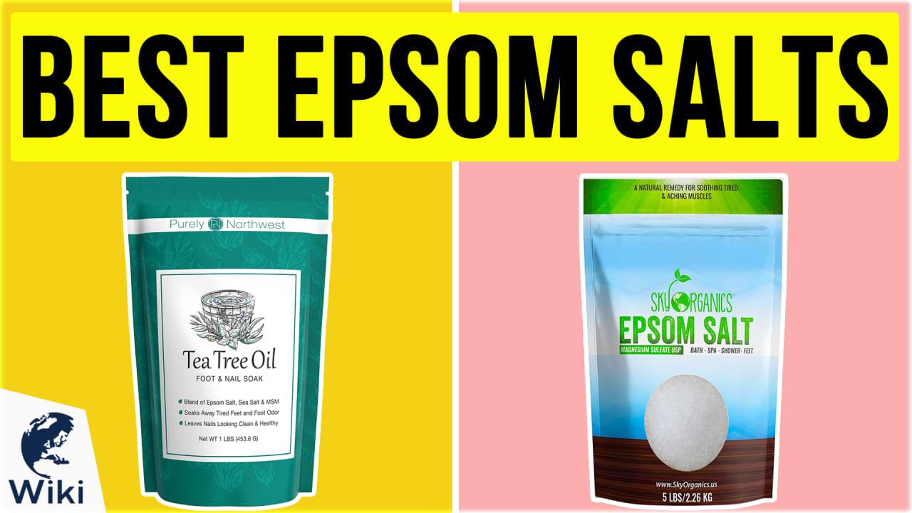 10 Best Epsom Salts