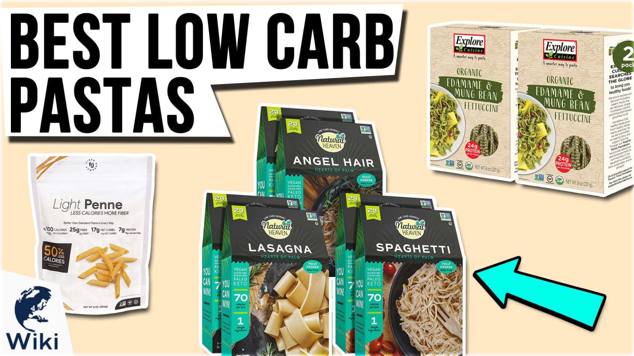 10 Best Low Carb Pastas