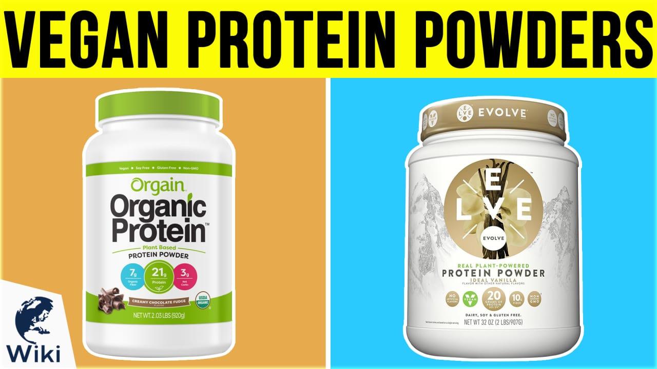 10 Best Vegan Protein Powders