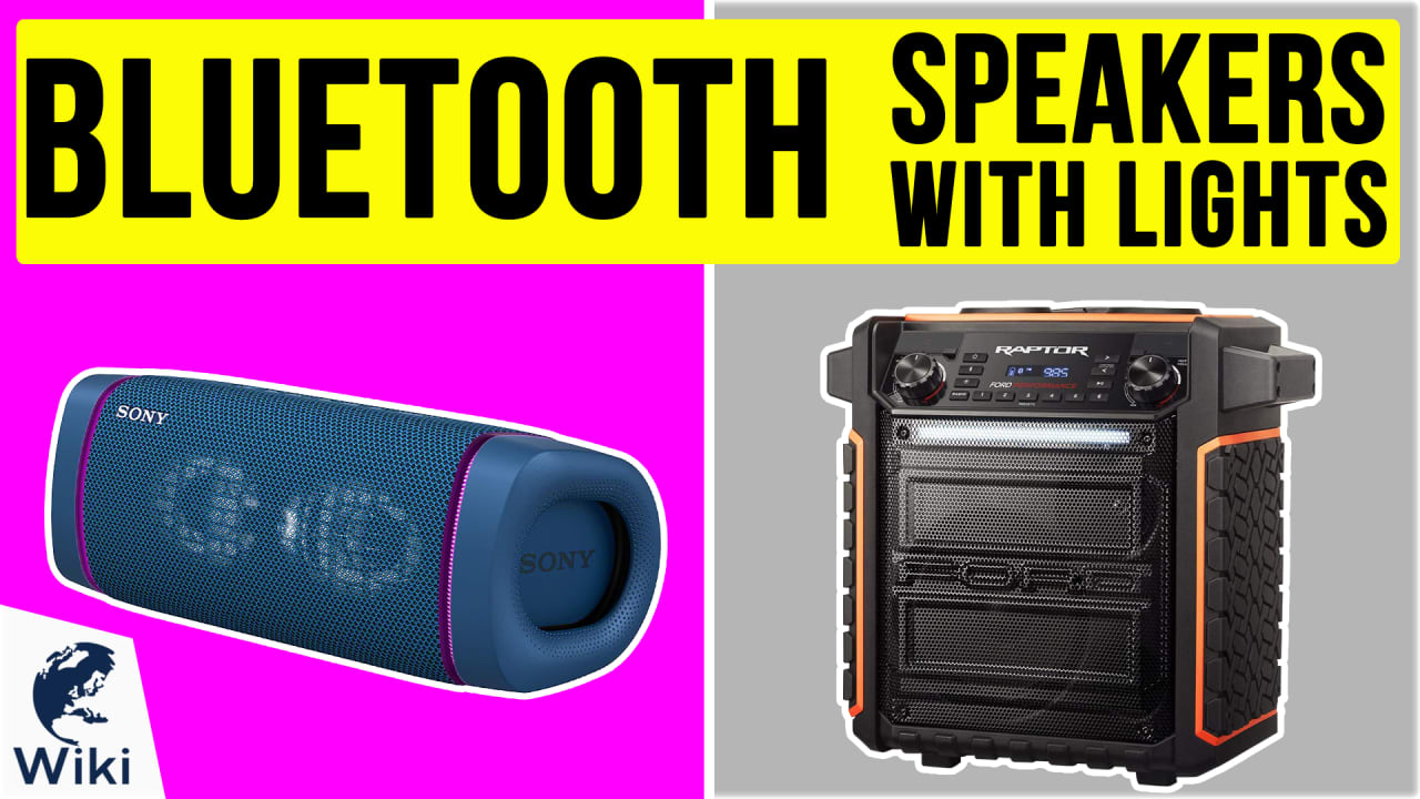 10 Best Bluetooth Speakers With Lights