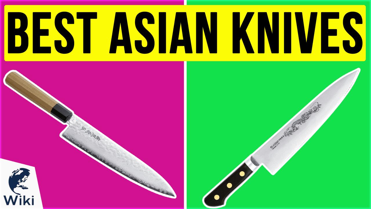 10 Best Asian Knives