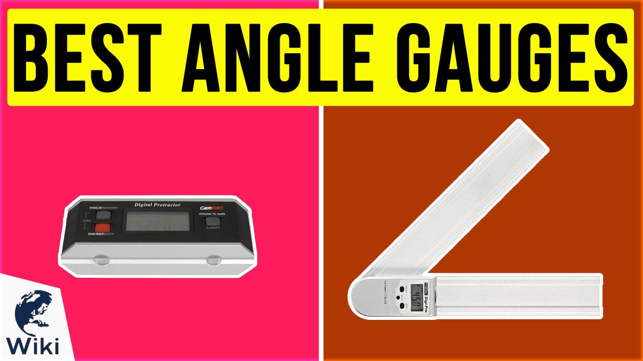 10 Best Angle Gauges