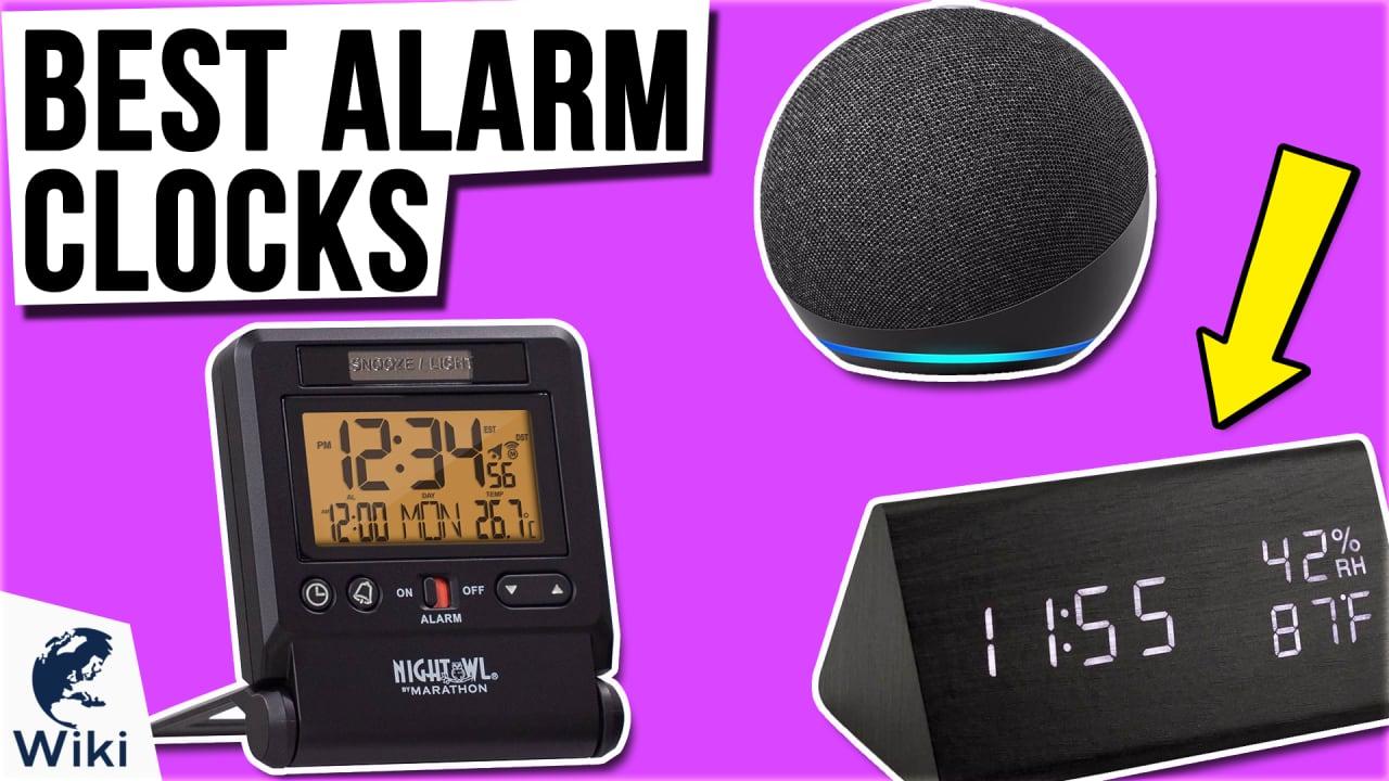 10 Best Alarm Clocks