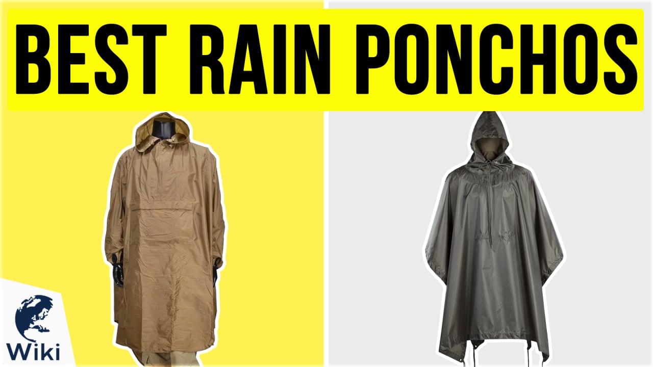 10 Best Rain Ponchos