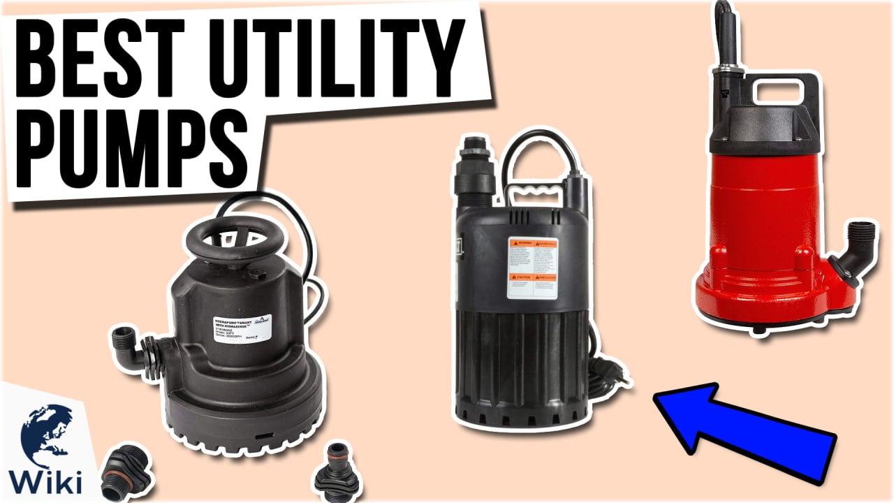 10 Best Utility Pumps