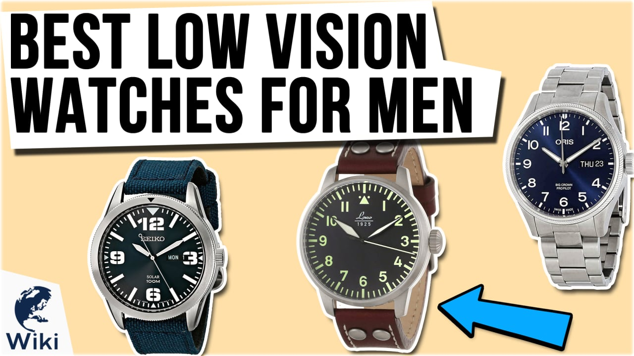 10 Best Low Vision Watches For Men