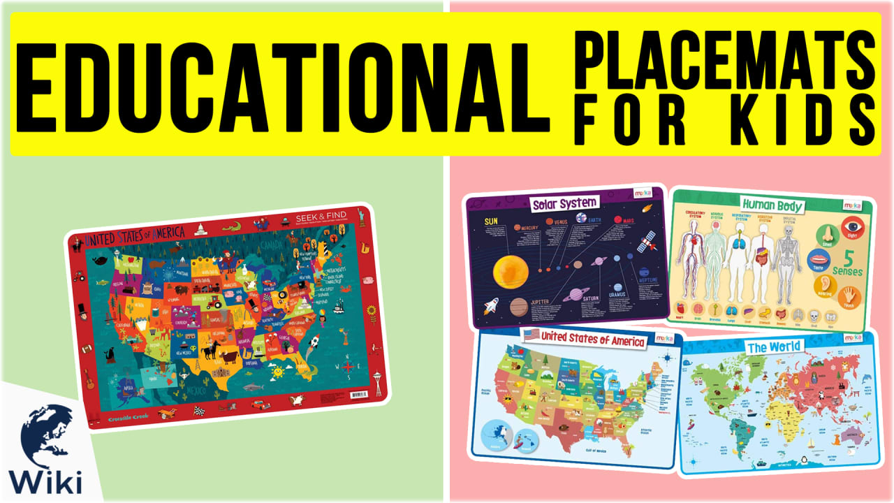 10 Best Educational Placemats For Kids