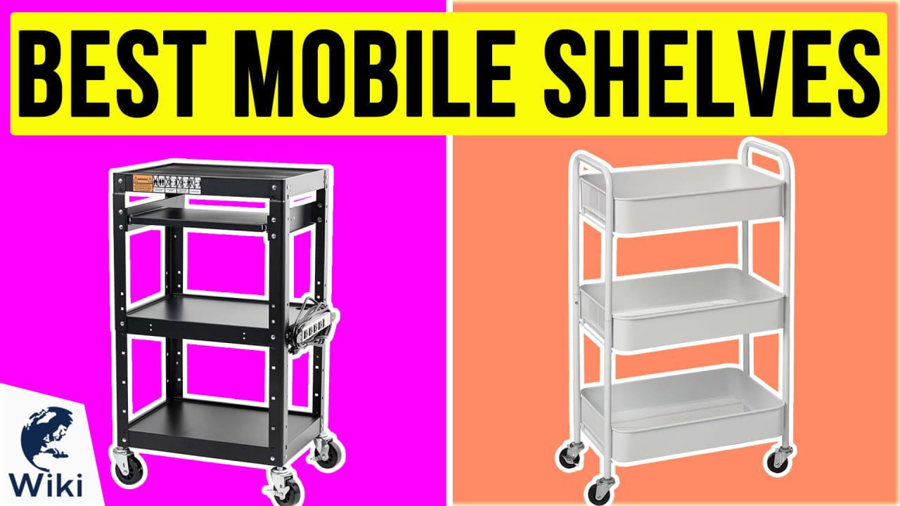 10 Best Mobile Shelves
