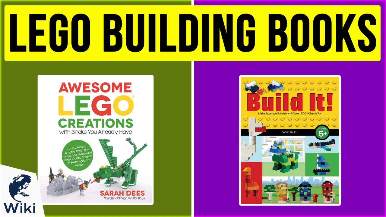 10 Best Lego Building Books