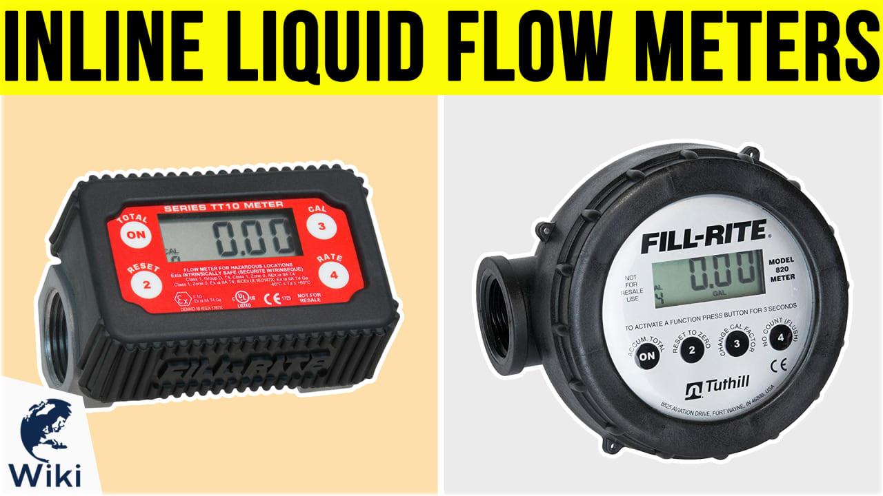 7 Best Inline Liquid Flow Meters