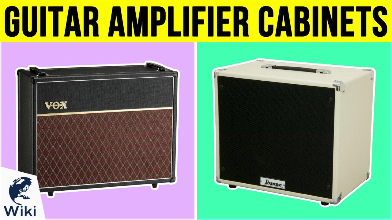 10 Best Guitar Amplifier Cabinets