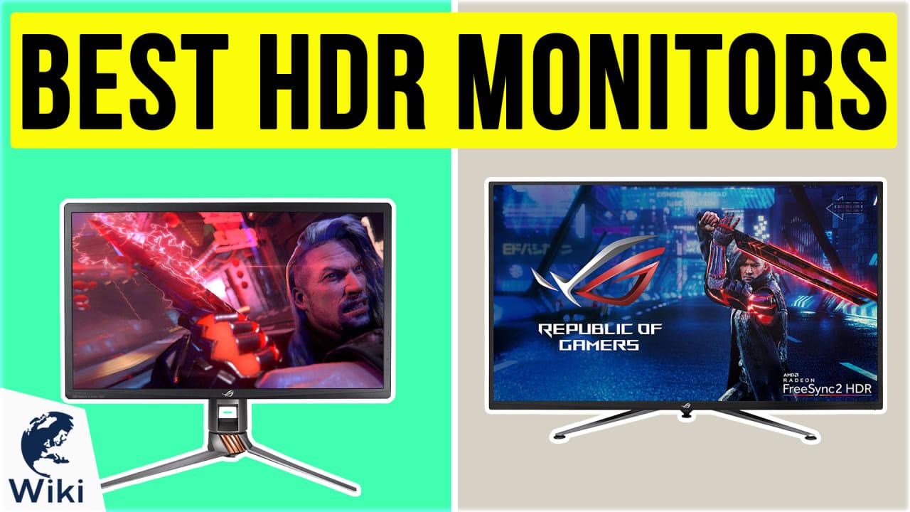 7 Best HDR Monitors
