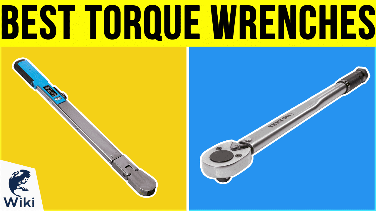 10 Best Torque Wrenches